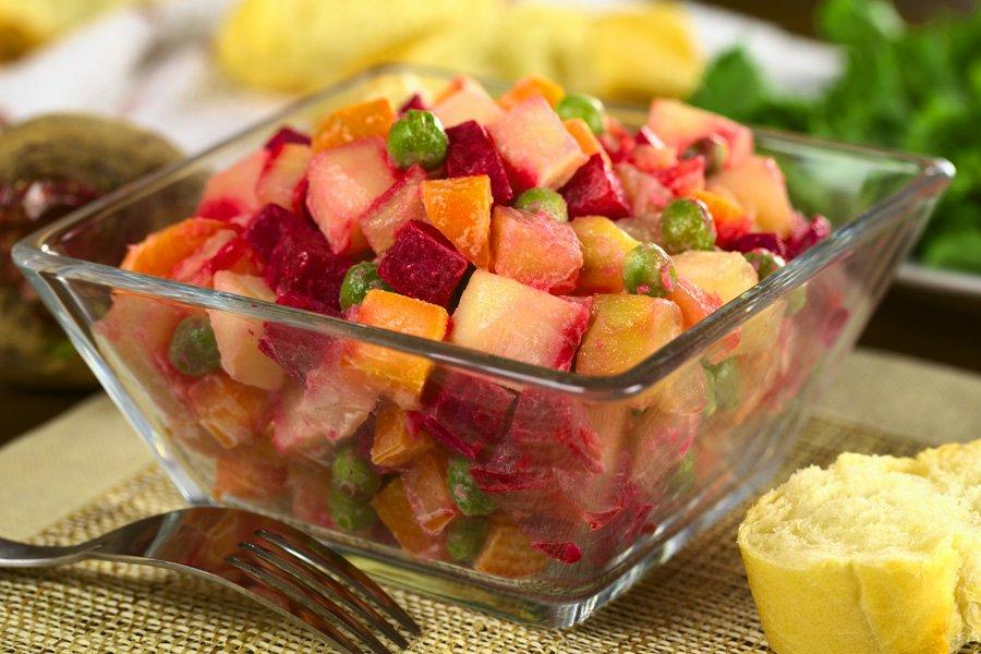 Салат «Винегрет»: новые образы «самого полезного блюда»