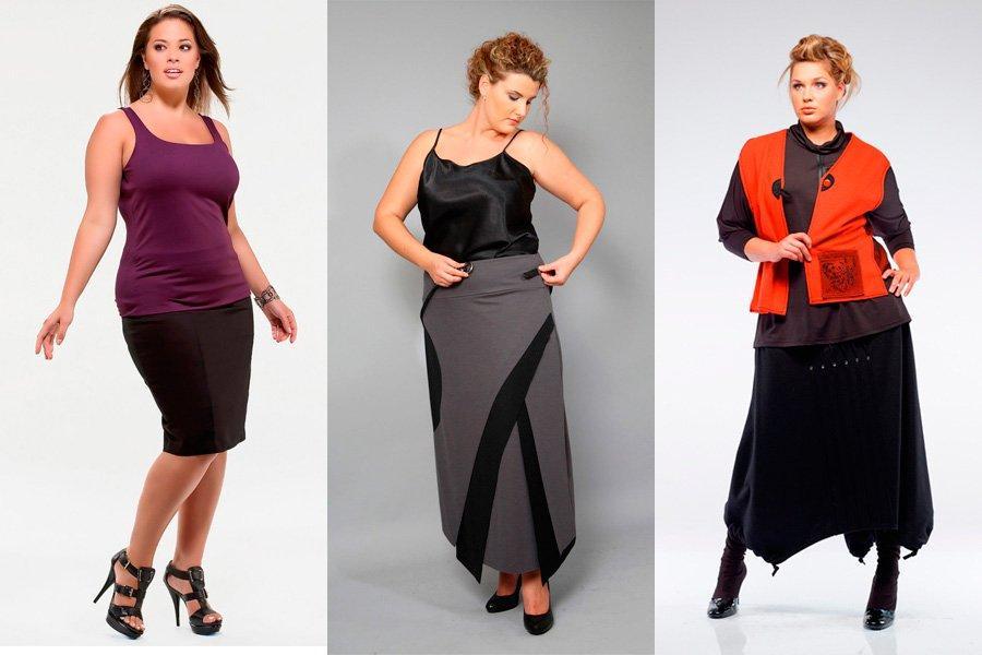 Как выбирать юбки для полных женщин