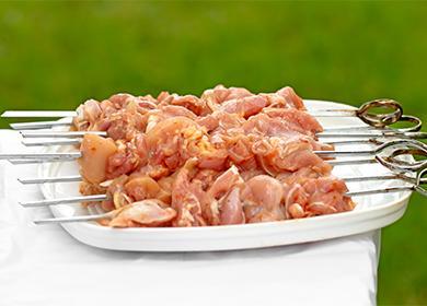 Как мариновать шашлык из баранины 🥝 маринованное мясо из свинины рецепт