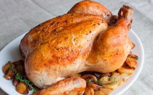 Курица с кортофельным гарниром