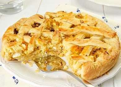 Капустный пирог в мультиварке 🥝 Редмонд, фото