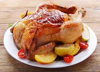 Курица с хрустящей корочкой