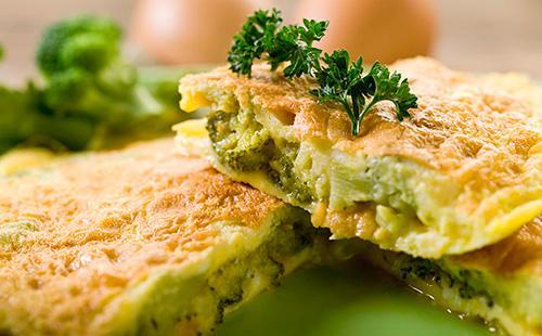 Как приготовить брокколи на сковороде 🥝 яичница с капустой, сыром и помидорами
