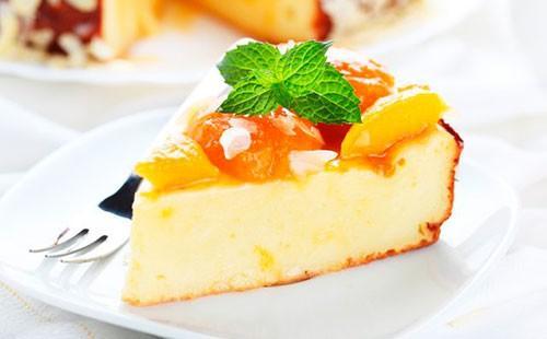 Запеканка с желе из фруктов