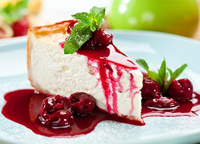 4 рецепта творожного пирога с ягодной начинкой