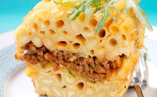 Запеканка с макаронами 🥝 лапшой и сыром, как сделать