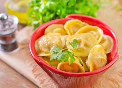 Пельмени домашние рецепт с фото 🥝 как готовить очень вкусное тесто пошагово