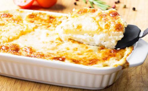 Запеканка с сыром в духовке 🥝 как приготовить с картошкой, чесноком и зеленью