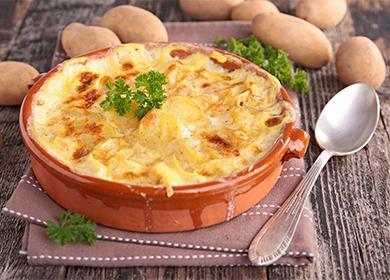 Картофельная запеканка с мясом 🥝 как приготовить в духовке из сырого и из вареного картофеля
