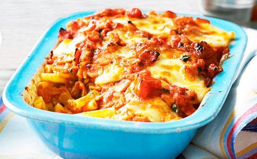 Запеканка с макаронами 🥝 сыром и лапшой, как сделать макаронную из рожков