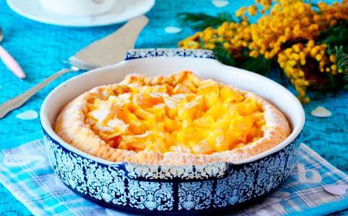 Рецепт шарлотки сапельсинами, яблоками имандаринами: варианты сочетаний начинки