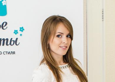 Наталья в своей студии