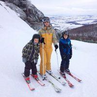 Лыжная прогулка с детьми