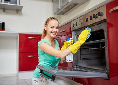 Чем отмыть духовку отстарого пригоревшего жира: универсальные средства, советы для газовых иэлектроприборов