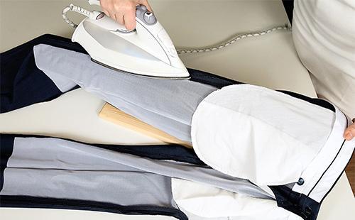 Как гладить брюки со стрелками, чтобы они долго держались и не было блеска