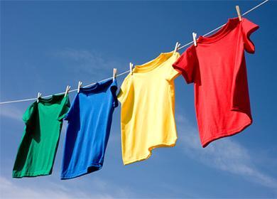 Разноцветные футболки