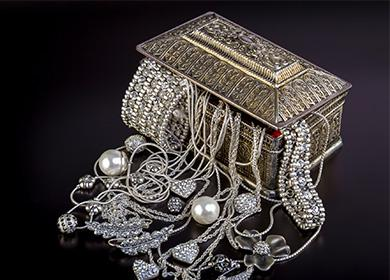 Серебрянные украшения