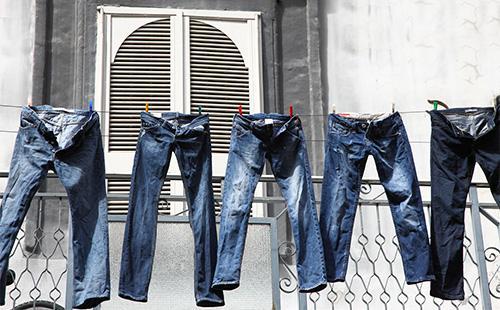 Как быстро высушить джинсы после стирки без утюга и фена отзывы