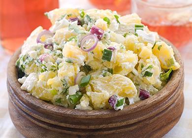 Щедрая порция картофельного салата