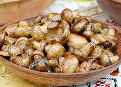 Сколько варить шампиньоны для супа 🥝 как пожарить свежие грибы, готовим правильно и вкусно