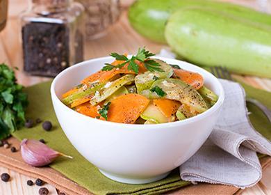 Кабачки по-корейски быстрого приготовления изимние заготовки: «родной» овощ наазиатский лад