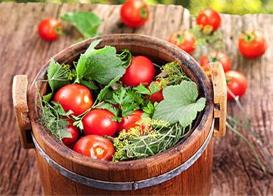 Бочковые помидоры вдомашних условиях: «классика» влучших деревенских традициях игородские альтернативы