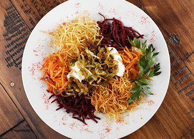 Как приготовить салат «Чафан»: «сочиняем» свое блюдо-конструктор