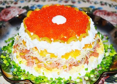 Салат «Морская жемчужина»: 8 рецептов и идеи, как сделать «раковины»