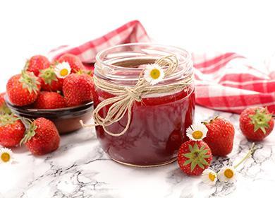 Клубничное варенье: 13рецептов, испособ сохранить ягоды взаготовках целыми