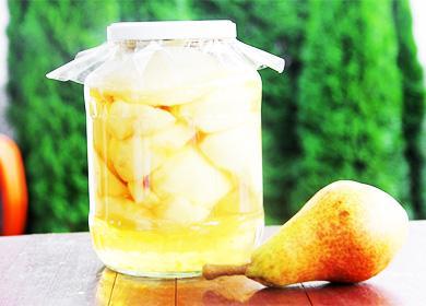 Компот изгруш назиму: рецепты сдругими фруктами, ягодами, ванилью, вмультиварке