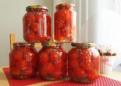 Помидоры «под снегом» (счесноком): рецепты назиму, икак добиться натурального вкуса томатов вбанке