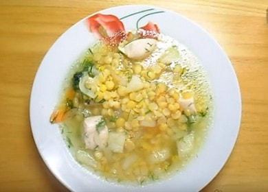 Ароматный гороховый суп с курицей: готовим по рецепту с фото.