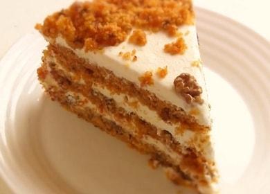 Оригинальный морковный торт: классический рецепт с фото.