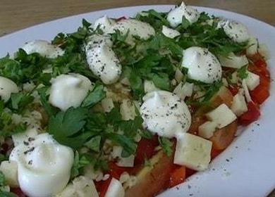 Неповторимый салат с грецкими орехами и курицей копченой — готовьте с легкостью