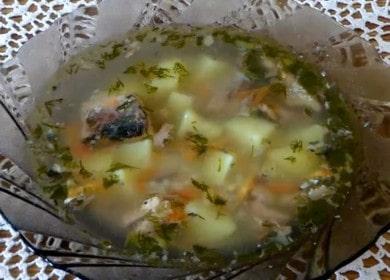 Готовим вкусный суп из рыбных консервов: рецепт с пошаговыми фото!