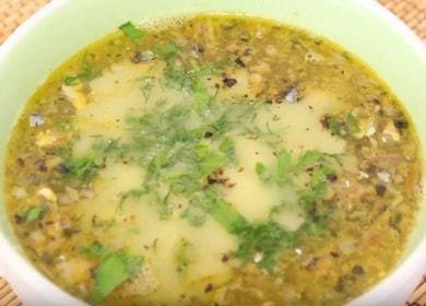 Готовим простой и быстрый суп из рыбных консервов сайра по рецепту с пошаговыми фото.
