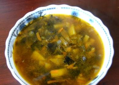 Готовим суп из сушеных грибов по рецепту с пошаговыми фото.