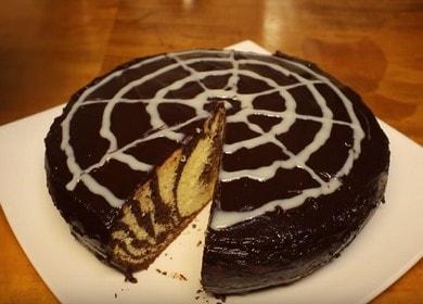 Вкуснейший торт Зебра в мультиварке: рецепт с фото.