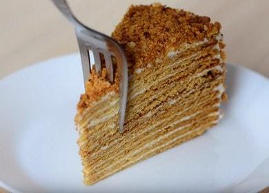 Классический торт медовик — семейный рецепт с фото пошагово