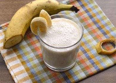 Банановый смузи с овсянкой и медом — сытный и полезный завтрак