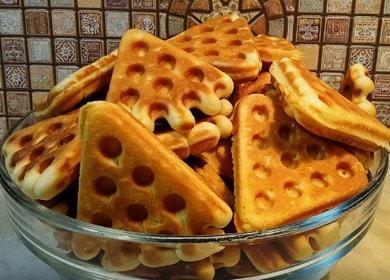 Гтовим вкусное вафельное печенье в домашних условиях по рецепту с фото.