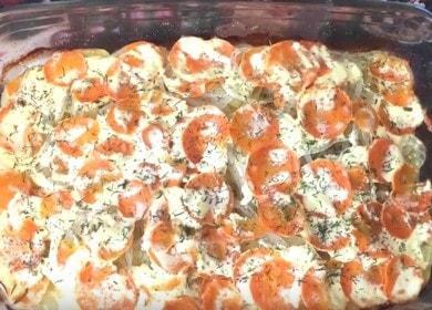 Вкуснейшая горбуша с картошкой в духовке: рецепт с пошаговыми фото и видео.