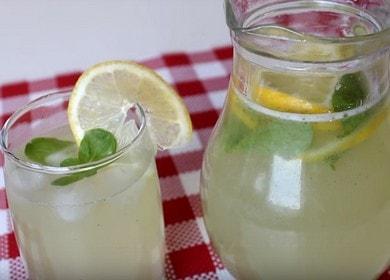 Имбирный лимонад — очень вкусный и полезный рецепт