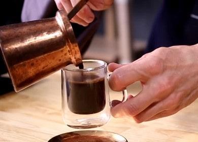 Как варить кофе в турке правильно: рецепт с фото.