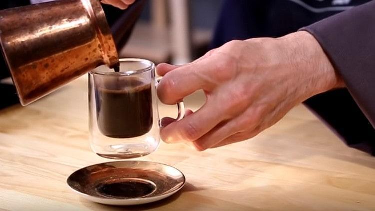 как сварить кофе в турке пошагово фото них