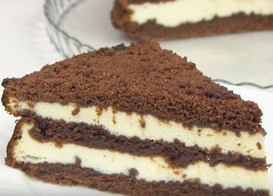 Королевский пирог с творогом — очень красивый и вкусный