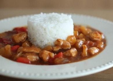 Курица в кисло-сладком соусе — секреты азиатской кухни