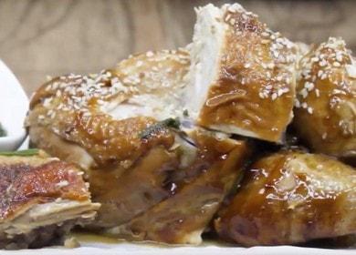Курица в соевом соусе на сковороде по китайскому рецепту