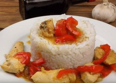 Курица по-тайски — рецепт в остром соусе
