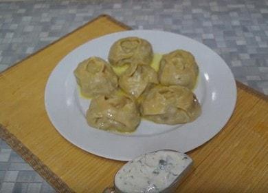 Готовим сочные манты с тыквой: рецепт по-узбекски с пошаговыми фото.